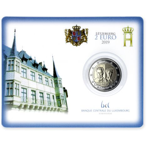 Luxemburg 2019 2 € Charlotte COINCARD