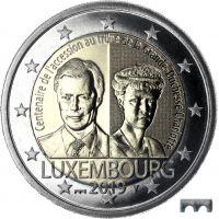 "Luxemburg 2019 2 € Charlotte ""silta"" BU"