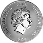 Niue 2019 2 Dollars Kloonisotilaat 1 unssi HOPEA
