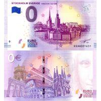 Ruotsi 2019 0 € Tukholman vanhakaupunki (KEAA 2019-1) UNC