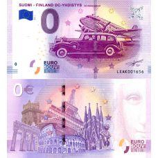 Suomi 2018 0 € DC-yhdistys (LEAK 2018-1) UNC