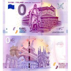Suomi 2018 0 € Hämeen linna (LEAF 2018-1) UNC