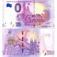 Suomi 2018 0 € Joulupukin pääposti II (LEAH 2018-2) UNC
