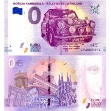 Suomi 2018 0 € Mobilia Kangasala (LEAD 2018-1) UNC