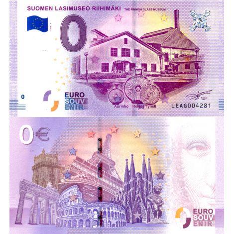 Suomi 2018 0 € Suomen lasimuseo (LEAG 2018-1) UNC