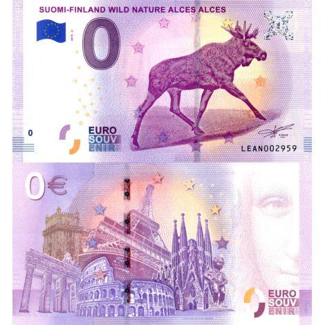 Suomi 2019 0 € Hirvi (LEAN 2019-2) UNC