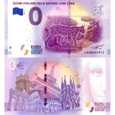 Suomi 2019 0 € Ilves (LEAN 2019-4) UNC