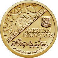 "USA 2019 $1 First Patent ""P"" UNC"