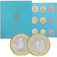 Vatikaani 2019 8,88 € Rahasarja BU
