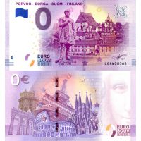 Suomi 2019 0 € Porvoo (LEAW 2019-1) UNC