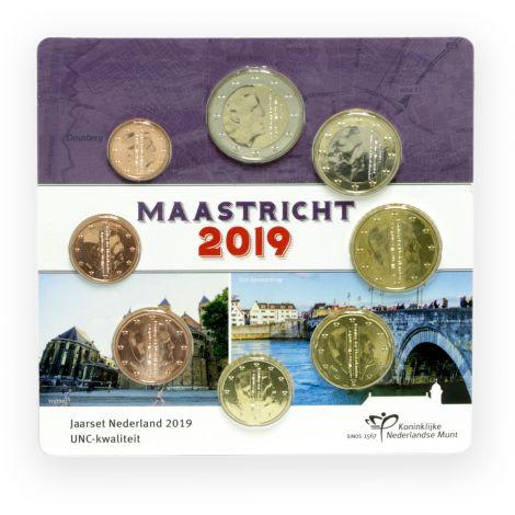 Alankomaat 2019 Rahasarja Maastricht UNC