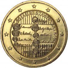 Itävalta 2005 2 € Valtiosopimus 50 vuotta KULLATTU