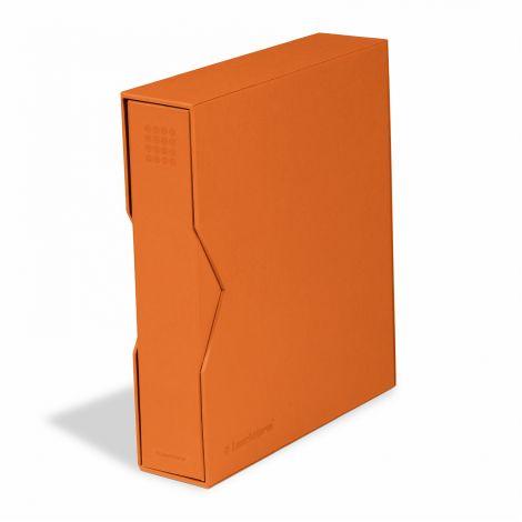 Keräilykansio, Leuchtturm OPTIMA PUR kotelossa - oranssi (359518)