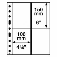 Säilytyslehti, Leuchtturm GRANDE SH312-2CT postikorteille (358076)