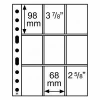 Säilytyslehti, Leuchtturm GRANDE SH312-3/3C pelikorteille (358077)