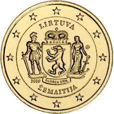 Liettua 2019 2 € Samogitia KULLATTU