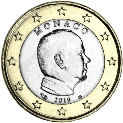 Monaco 2019 1 € UNC