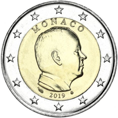 Monaco 2019 2 € UNC