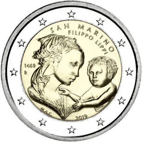 San Marino 2019 2 € Filippo Lippi UNC
