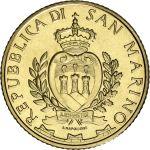 San Marino 2019 5 € 5G UNC