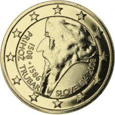 Slovenia 2008 2 € Primoz Trubar KULLATTU