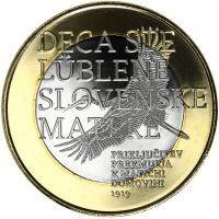 Slovenia 2019 3 € Prekmurje UNC
