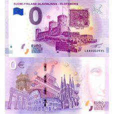 Suomi 2019 0 € Olavinlinna (LEAV 2019-1) UNC