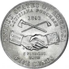 "USA 2004 $0,05 Jefferson - Peace Medal ""P"" UNC"
