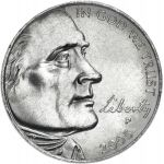 "USA 2005 $0,05 Jefferson - American Bison ""P"" UNC"
