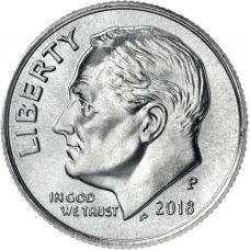 "USA 2018 $0,10 Roosevelt ""P"" UNC"