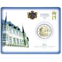 Luxemburg 2019 2 € Yleinen äänioikeus 100 vuotta COINCARD