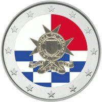 Malta 2014 2 € Poliisivoimat 200v VÄRITETTY