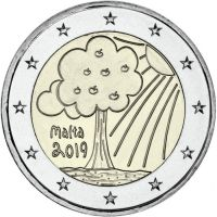 Malta 2019 2 € Luonto ja ympäristö UNC