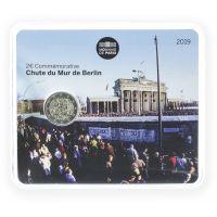 Ranska 2019 2 € Berliinin muurin kaatumisesta 30 vuotta COINCARD