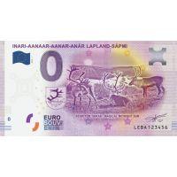 Suomi 2019 0 € Inari (LEBA 2019-1) UNC