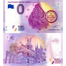 Suomi 2019 0 € SantaPark Arctic World (LEAZ 2019-1) UNC