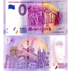 Suomi 2019 0 € SantaPark Arctic World (LEAZ 2019-2) UNC
