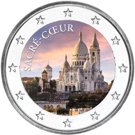 2 € Ranska - Sacré-Cœur VÄRITETTY