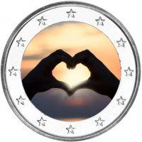 2 € Ystävänpäivä - Rakkaus VÄRITETTY