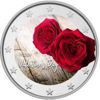 2 € Ystävänpäivä - Ruusut VÄRITETTY