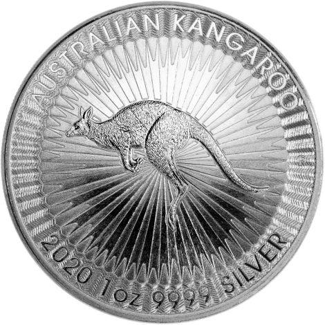 Australia 2020 1 Dollar Kangaroo 1 Unssi HOPEA