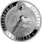 Australia 2020 1 Dollar Kookaburra 1 unssi HOPEA