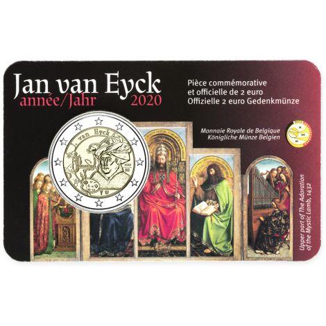 Belgia 2020 2 € Jan van Eyck FR COINCARD
