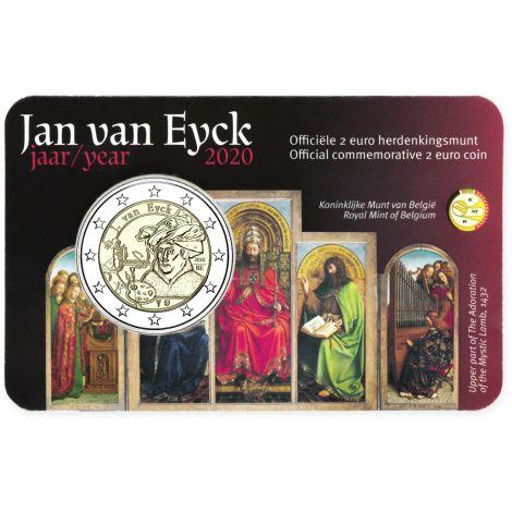 Belgia 2020 2 € Jan van Eyck NL COINCARD