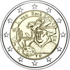 Belgia 2020 2 € Jan van Eyck PROOF