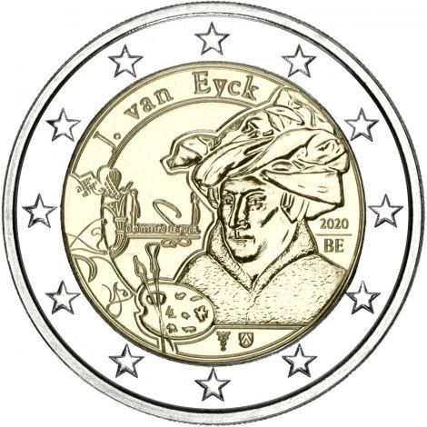Belgia 2020 2 € Jan van Eyck UNC