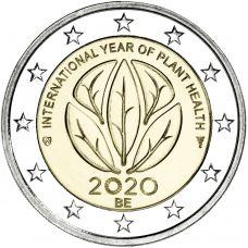 Belgia 2020 2 € Kasvinterveysvuosi UNC