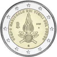 Italia 2020 2 € Kansallinen palokunta UNC