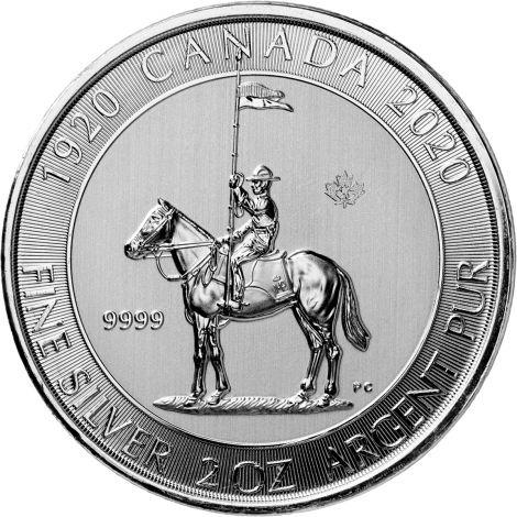 Kanada 2020 10 Dollars Mounted Police 2 Unssia HOPEA