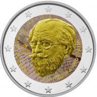 Kreikka 2019 2 € Andreas Kalvos #2 VÄRITETTY